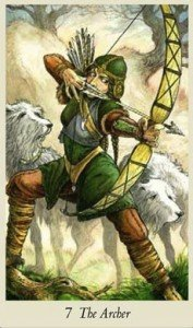The Archer Wildwood Tarot - Aim for Happiness and Freedom