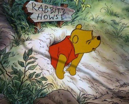 getting un-stuck winnie the pooh