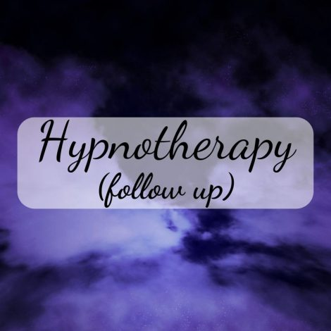 hypnotherapy follow up session
